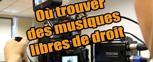 Deux sites pour trouver des musiques libres de droit pour vos vidéos